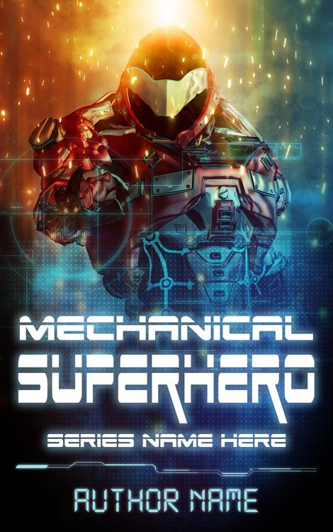 Mechanical Superhero Cover